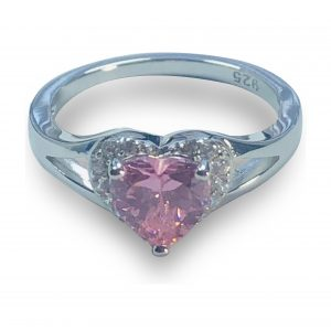 21RL91MJT-Sterling-Silver-Heart-Shape-Pink-CZ-Ring-105-3